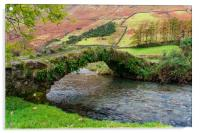 Packhorse Bridge, Acrylic Print