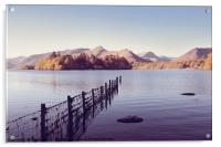 Derwent Isle and Catbells, Acrylic Print