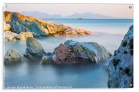 The Lleyn Peninsula from Anglesey, Wales, Acrylic Print
