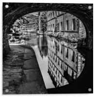 Black and white reflections, Acrylic Print