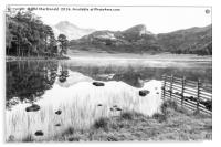 Blea Tarn, Lake District (B&W), Acrylic Print