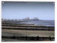 Cromer Pier in the Distance, Acrylic Print