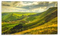 The Hope Valley , Acrylic Print