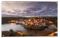 Staithes, North Yorkshire, Acrylic Print