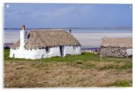Thatched cottage, Acrylic Print
