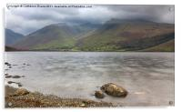 Wastwater to Scafell, Acrylic Print
