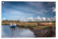 The Timeless Thornham Old Harbour, Acrylic Print