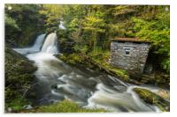 Colwith Force Hut, Acrylic Print