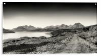The Sound of Raasay and The Cuillin range No.2, Acrylic Print