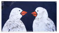 Lovebirds, Berlin, Acrylic Print