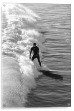 Catching a wave                             , Acrylic Print