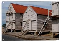The old sail lofts at Tollesbury, Essex, Acrylic Print