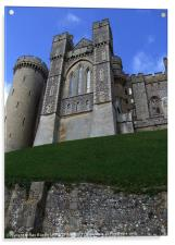 ARUNDEL CASTLE,SUSSEX, Acrylic Print