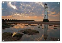 Perch Rock Lighthouse, Acrylic Print