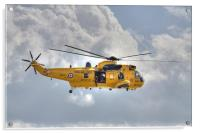 RAF Sea King Helicopter, Acrylic Print