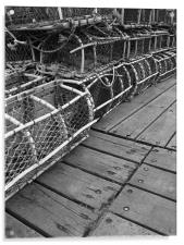 Lobster Traps, Acrylic Print