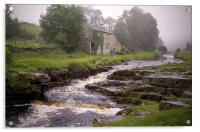 Misty Day (in the Yorkshire Dales), Acrylic Print