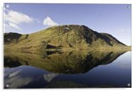 The Tranquility Of Crummock Water, Acrylic Print