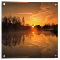 early in the morning, Acrylic Print