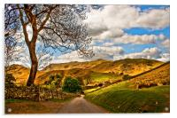 The Road To Howtown, Acrylic Print