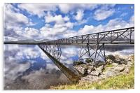 A Bridge To The Other Side., Acrylic Print