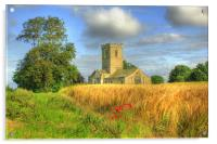 St Andrews Church 2012, Acrylic Print