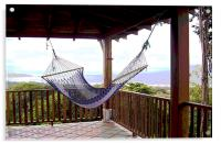 Hammock with a View , Acrylic Print
