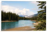 View from Jasper National Park., Acrylic Print