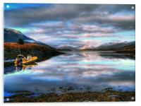 Quiet Morning On Loch Leven, Acrylic Print