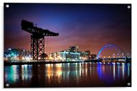 The Clyde Arc, Acrylic Print