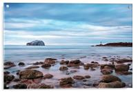 Bass Rock And The Beacon, Acrylic Print