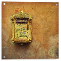 French post box, Acrylic Print