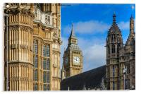 Palace of Westminster, Acrylic Print