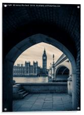 Westminster View, Acrylic Print