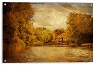 House By The River, Acrylic Print