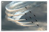 Red Arrows 2, Acrylic Print