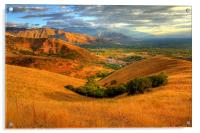 Hills of Wasatch National Forest, Acrylic Print