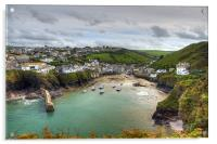 Port Isaac Harbour, Acrylic Print