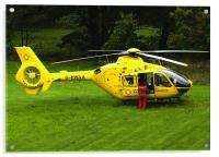Air Ambulance, Acrylic Print