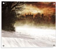 St lukes in the snow, Acrylic Print