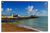 Hastings Pier After The Fire, Acrylic Print