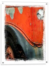 not in service, Acrylic Print