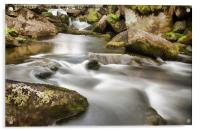 West Okement River, Acrylic Print