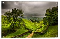 In England's green and pleasant land, Acrylic Print