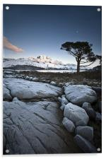 Frosted Slioch, Acrylic Print