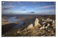 Haweswater From Harter Fell, Acrylic Print