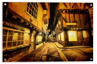 The Shambles, York, Acrylic Print