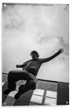 Parkour, Free Runner, Acrylic Print