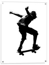 The Skateboarder, Acrylic Print