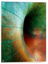 A Ring of bright Colours, Acrylic Print